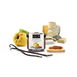 Salsa dulce de Membrillo con vainilla Bourbon de Madagascar